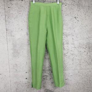 MILLER SHOR Silk Cropped Pant